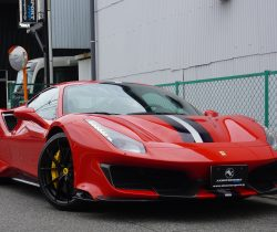 New Stock フェラーリ 488ピスタ RossoCorsa dealer carbon